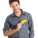 tarjeta de crédito afecto — Foto de Stock