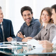 Business colleagues at work — Stock Photo