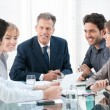 Discussion and cooperation — Stock Photo