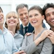 Business success and celebration — Stock Photo