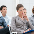 Business educational conference — Stock Photo
