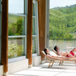 Relax at spa centre — 图库照片