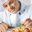 Chef at work — Stock Photo #12768810