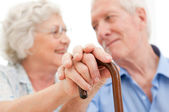 Serene senior couple — Stockfoto