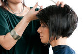 Hairdressing — Stockfoto