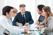 Business work in group — Foto Stock