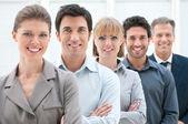 Team aziende al lavoro — Foto Stock