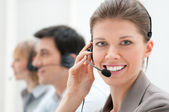 Call-Center — Stockfoto