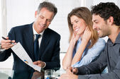 Finanzielle planung beratung — Stockfoto