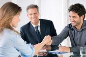 Entrevista de negocios exitosos — Foto de Stock