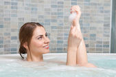 Hot bath — Stock Photo