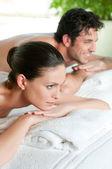Relaxamento no spa — Fotografia Stock