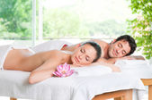 Enjoy the relax at spa — 图库照片