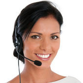 Call center support — Foto Stock