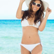 Stock Photo: Young Woman In Bikini