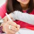 Writing homework — Stock Photo #22064627