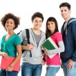 Foto Stock: Portrait Of Multi Ethnic Students