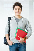 Happy College Student — Stock Photo