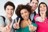 Students success — Stock Photo