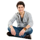 Porträt von einem coolen jungen mann — Stockfoto