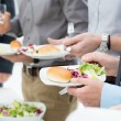 Stock Photo: Business Lunch Detail