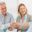 Handshake and agreement — Stock Photo #24462041
