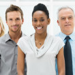 Multi Ethnic Business Group — Foto Stock