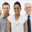 Multi Ethnic Business Group — Stockfoto