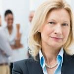 Portrait Of Senior Businesswoman — Stock Photo #24462117