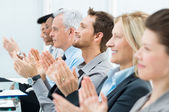 Conference success — Stock Photo