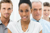Diverse Business Group — Stock Photo