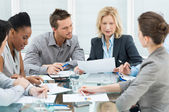 Business In Meeting — Foto Stock