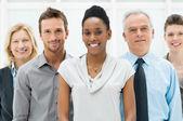 Multi-etnische bedrijfsgroep — Stockfoto