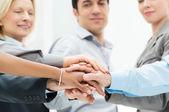 Biznes praca zespołowa — Zdjęcie stockowe