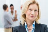 Retrato de mulher de negócios sênior — Foto Stock