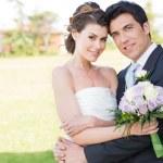 Happy Bride and Groom — Stock Photo #28206627