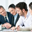 Business team working together — Stock Photo #31199431