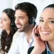Call center — Stockfoto