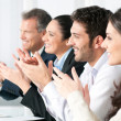 Business team clapping hands — Stock Photo #31199613