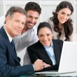Proud satsfied business team — Stock Photo #31199705