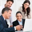 Business team working together — Stock Photo #31199795