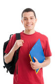 Happy teenager student — Stock Photo