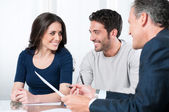 Planning bank investments — Stock Photo