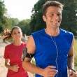 Young Couple Running — Stock Photo #32810003