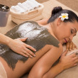 Green Clay Treatment At Spa — Stockfoto #37107317