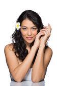 Beauty Portrait Of A Beautiful Girl — Stockfoto