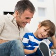 Happy Father And Son — Stock Photo #39422975