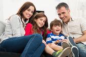Portrét rodina — Stock fotografie