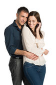 Smiling Couple in Love — Stock Photo
