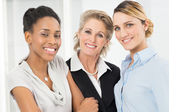 Group Of Happy Businesswomen Only — Stock Photo